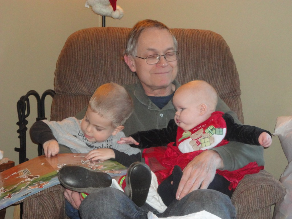 Christmas with Grandpa 2011 @meredithspidel