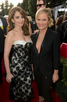 Amy Poehler and Tina Fey at Golden Globes @meredithspidel