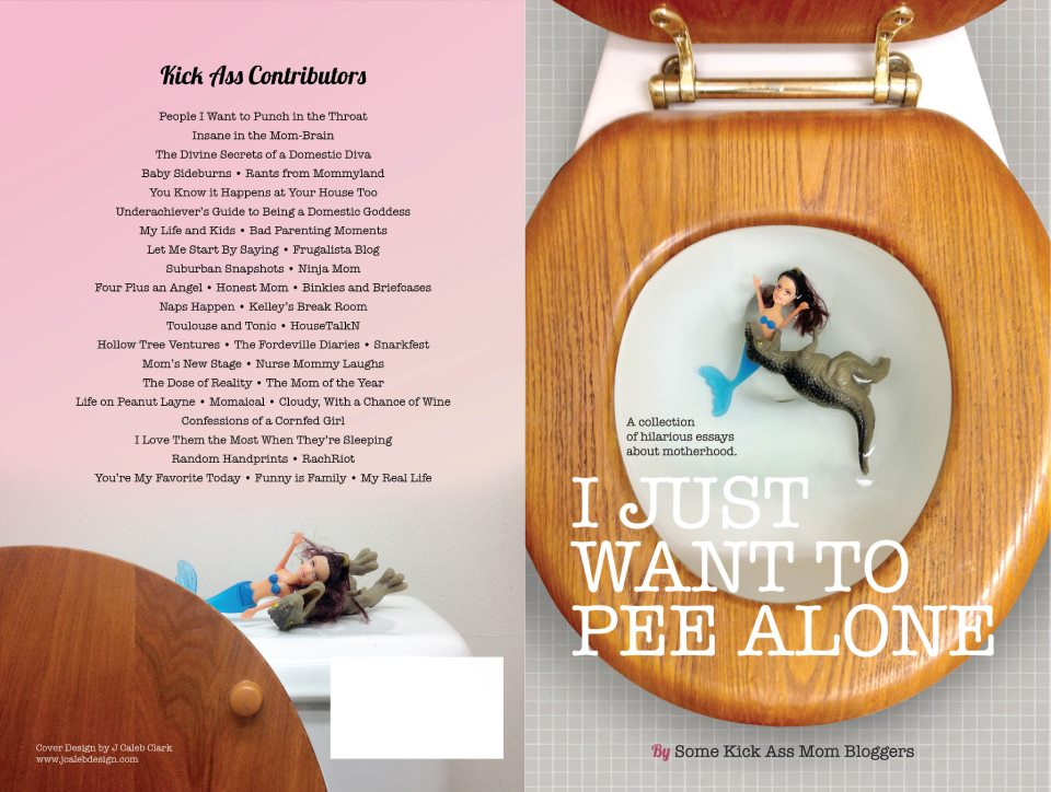 I Just Want to Pee Alone book cover @meredithspidel @throat_punch