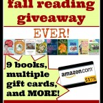 The Biggest Fall Reading Giveaway EVER (I need a chair so I can sit down...)