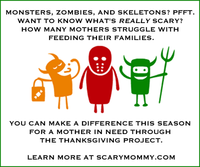 Scary Mommy Nation Thanksgiving Project Halloween collection