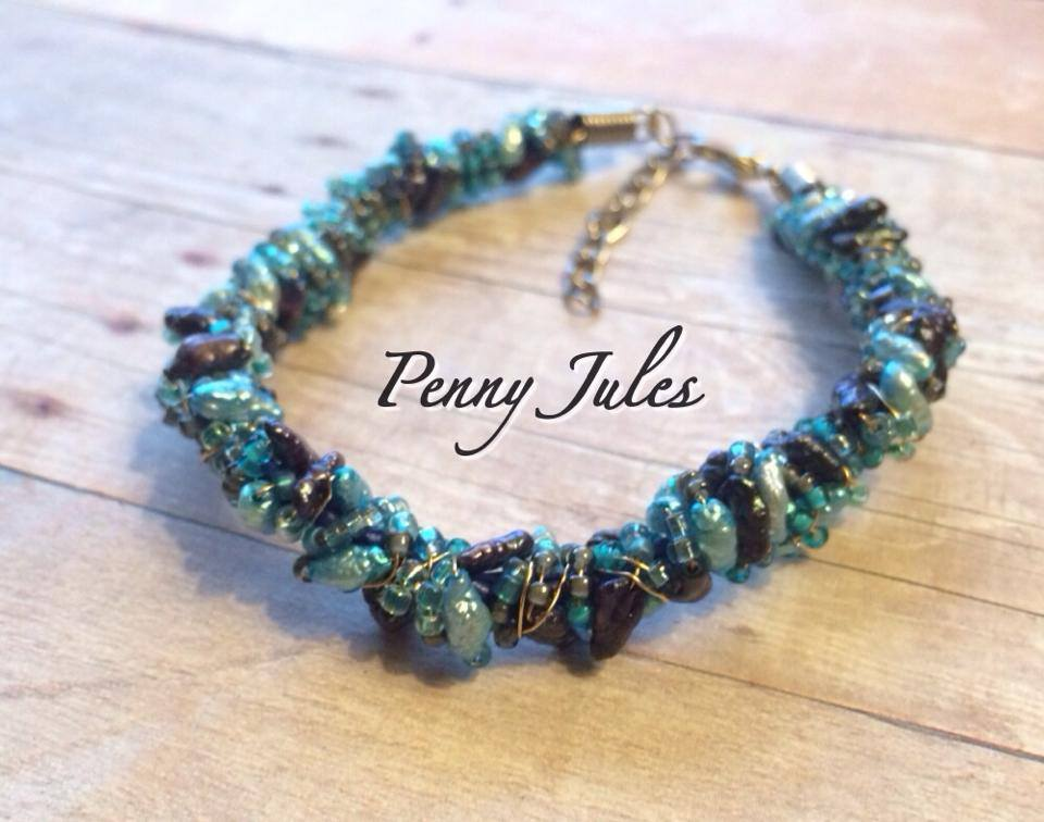 A bracelet similar to this is what started my whole love affair with Penny Jules