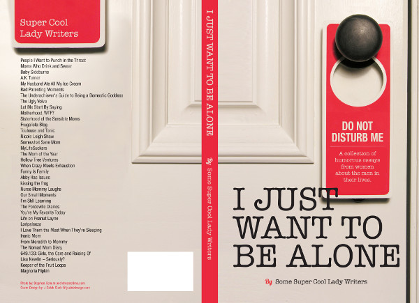 I Just Want to Be Alone @meredithspidel #justbealone back cover