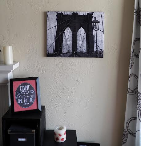 Pottery Barn art dupe Brooklyn Bridge print @alisamalisa @meredithspidel