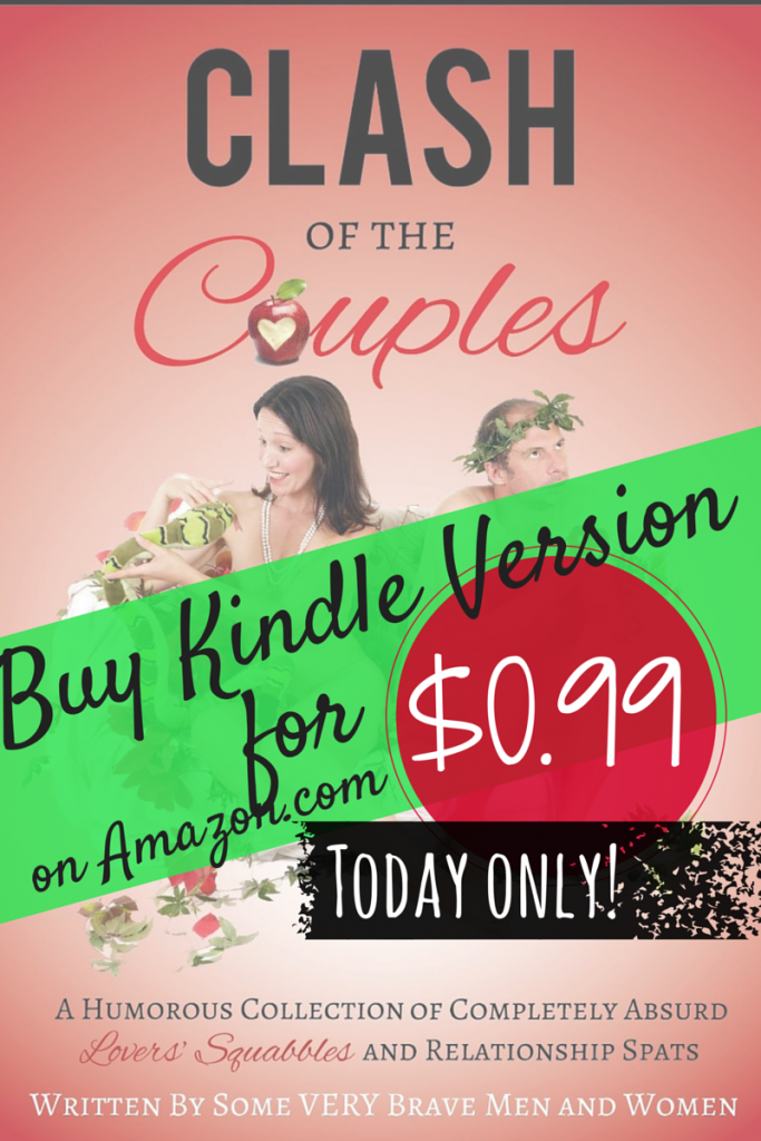 Snag a copy of Clash of the Couples for only $0.99! What a deal! Treat for yourself or early holiday gift!