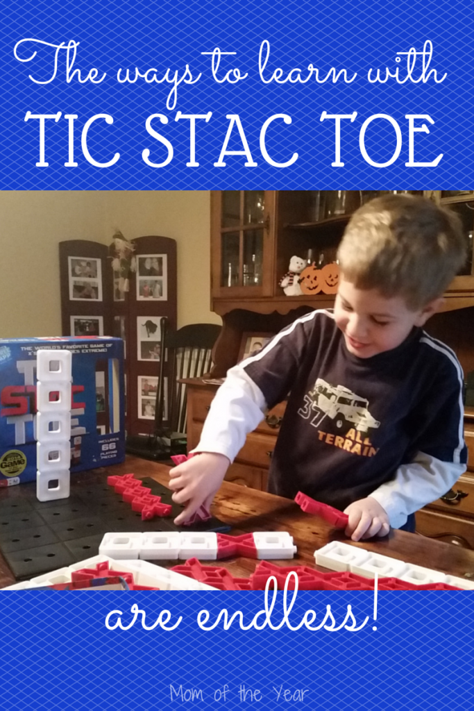Tic Tac Toe has been rebooted in this cool new board game. Endless ways for kids of all ages to learn and grow with this as an educational tool and perfect fun for family game night!