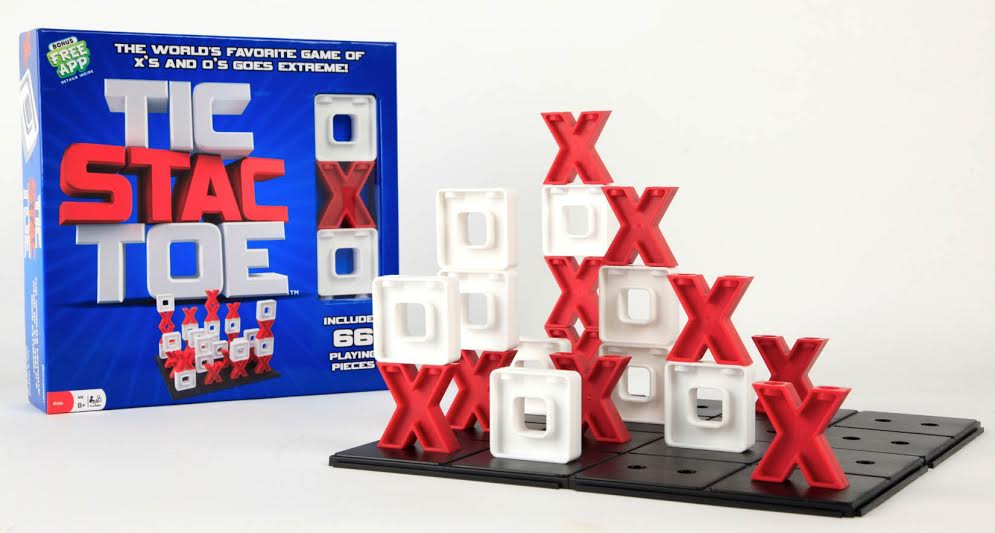 Tic Stac Toe is THE new game! Snatch it up for Family Game Night, holiday gifts, and as a super learning tool for school-age children. Perfect way to keep kids busy in these long winter months or rainy days too!