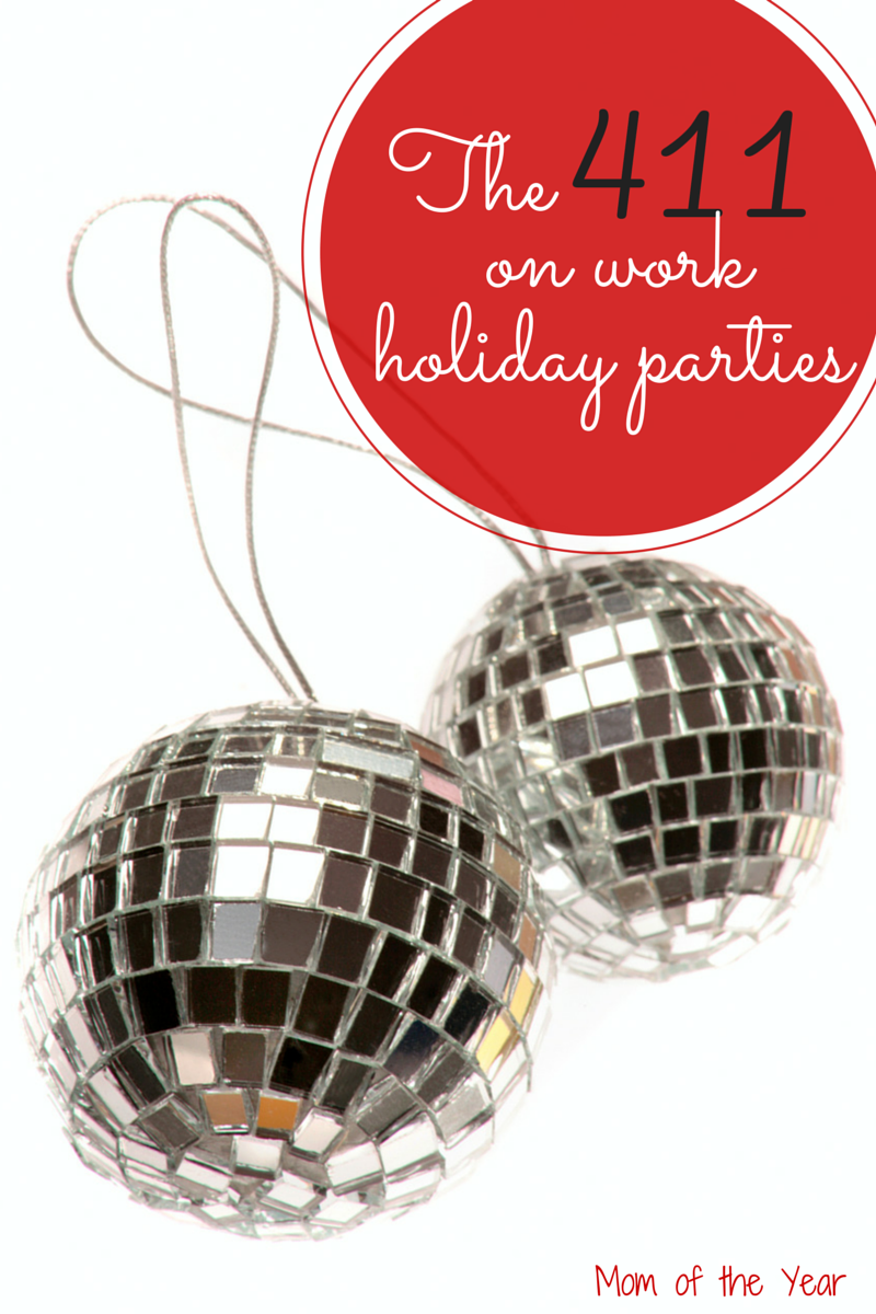 Knowing how to act and what to/do say at a work holiday party can be tricky. Here are tips for not only surviving, but having a fantastic time out amidst all the glitz and glitter!