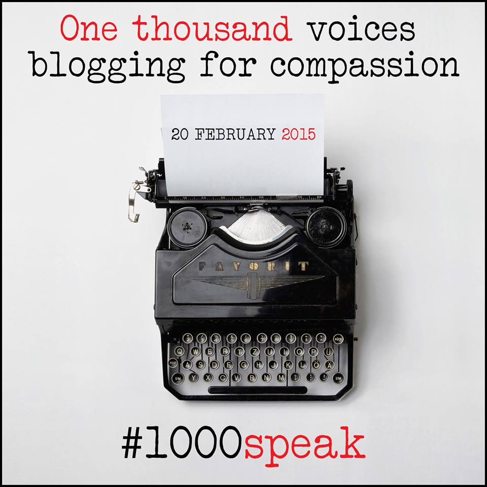 1000 voices are gathering together to promote goodness, kindness, compassion and support for others through this campaign. I'm honored to be part of it and read on to learn the single most pure way to support your friends in this life!