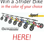 Get Spring-Ready with Strider!