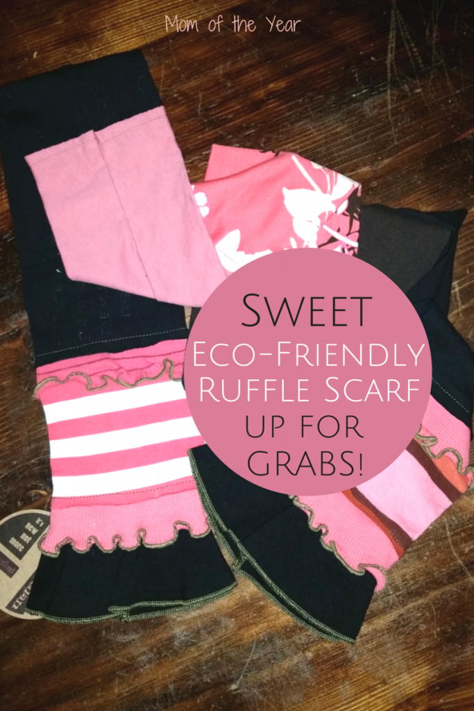 This sweet eco-friendly repurposed fabric scarf from Elisabethan is the PERFECT Mother's Day or teacher gift. But, let's be honest, at this level of adorableness, I'd keep it for myself! Win it NOW!