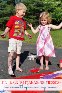 Grab the Huggies® Wipes: Because Kids Outgrow Diapers, Not Messes*