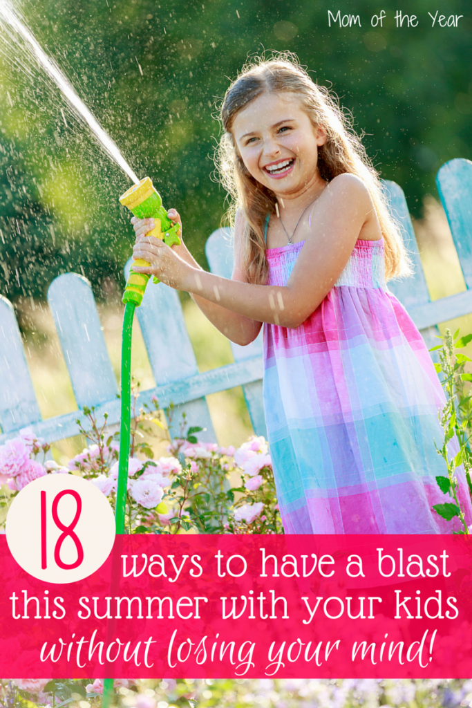 Keeping kids busy and occupied over the summer is a CHORE than any mom knows too well! Check these ideas to keep the days full and busy without losing your mind from exhaustion. #13 is brilliant!