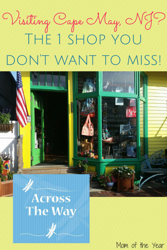 Cape May, NJ is FULL of sweet, small shops, but trust me--this is the ONE that you can't miss! And here are 4 reasons why--did I mention that it's kid-friendly?? ;)