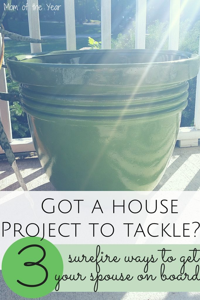 Have a crazy project you need your spouse's help to tackle? No matter how ridiculous or insane the task, follow these 3 easy-peasy steps to tackle that to-do list and get the help you need. Laughs along the way included!