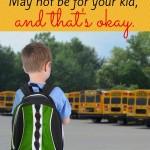 The School Bus Dilemma