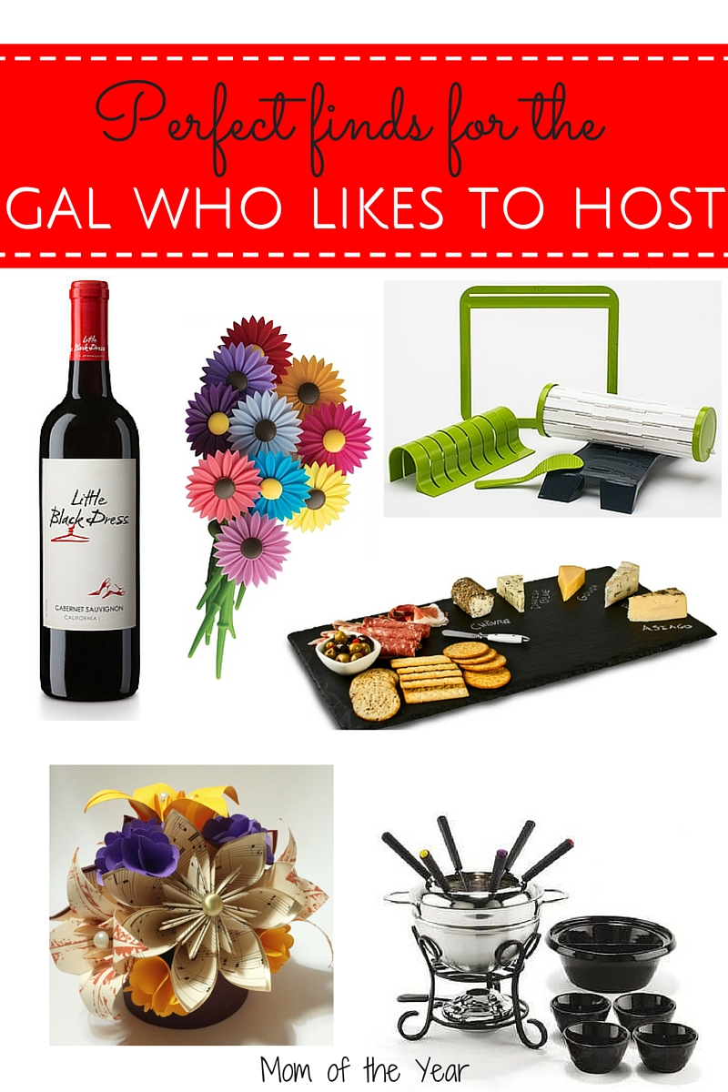Have a friend who likes to host? Toast her welcoming spirit with these fantastic fun hostess gift ideas! You'll be the favorite guest at her next party!
