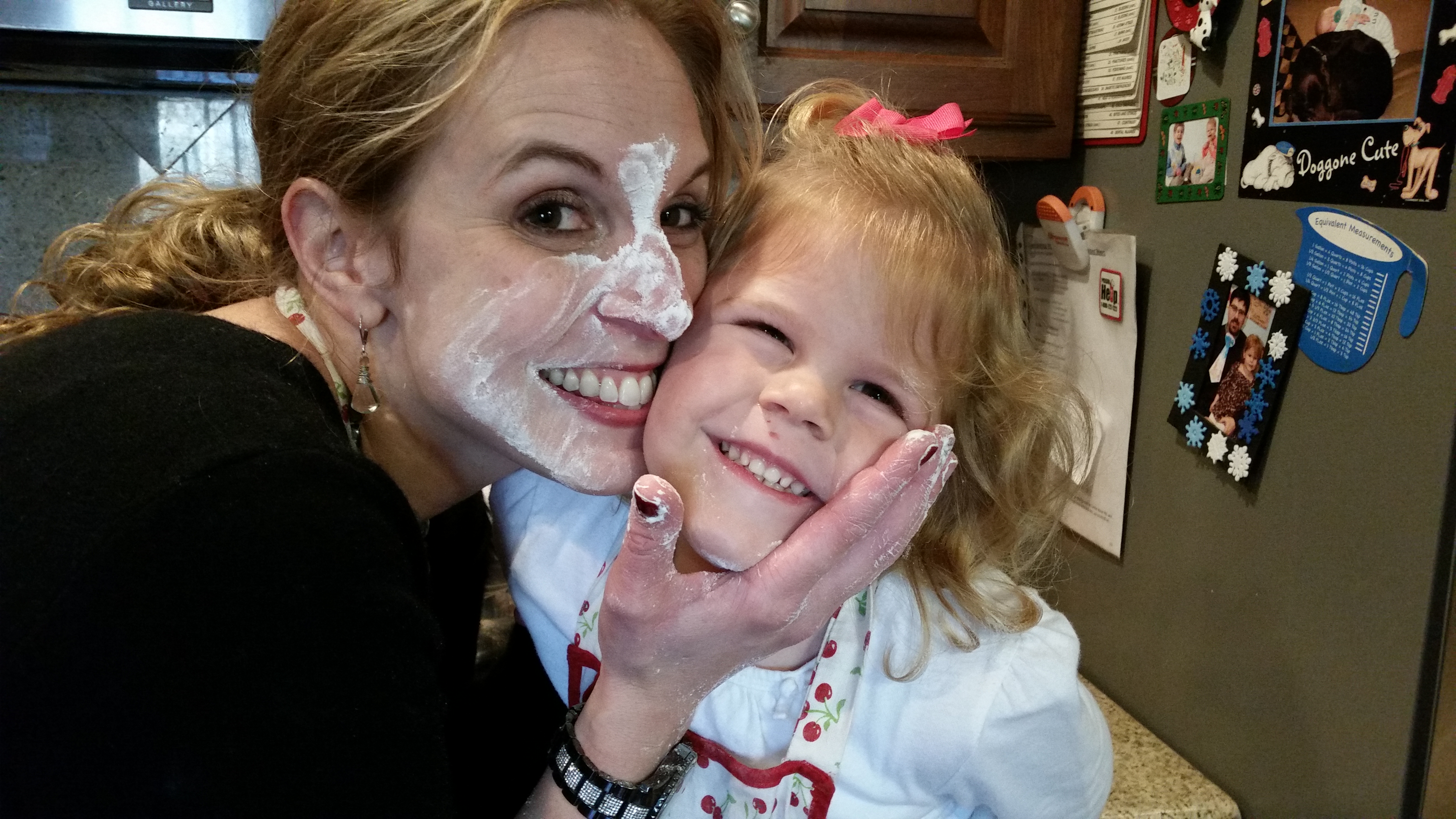 Christmas cookie baking? Sometimes making messes in the kitchen is worth it...so very worth it! Memories, fun, and special family time? Here is how to make it a win for everyone!
