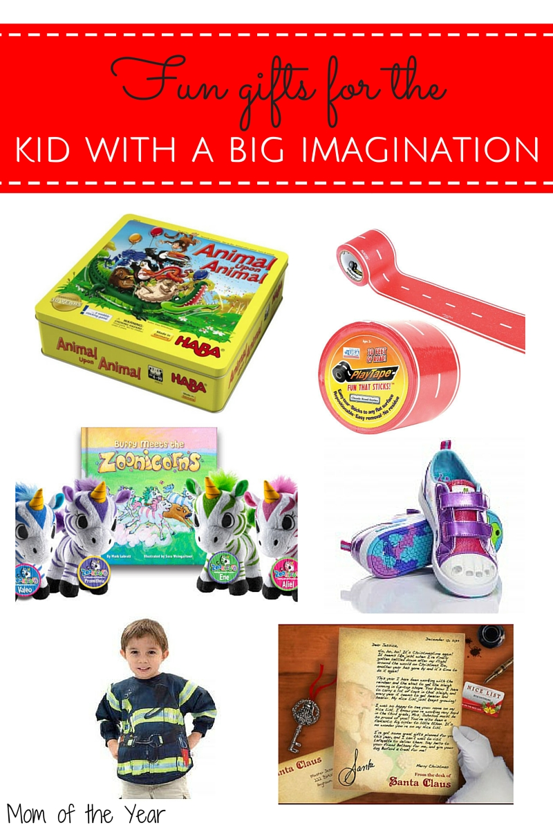 Childhood is the perfect playground for imagination! Foster it in kids with these unique gifts and keep them busily playing for hours!