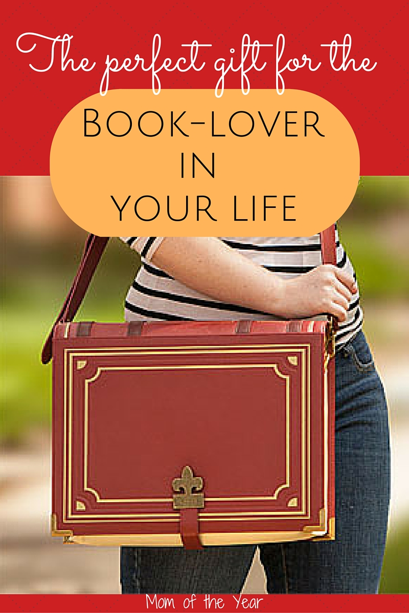 This is the PERFECT gift for the book-lover in your life! Quality, roomy construction, it's hip, cool & the perfect place for her to stash all of her books! Any dedicated reader will love this!
