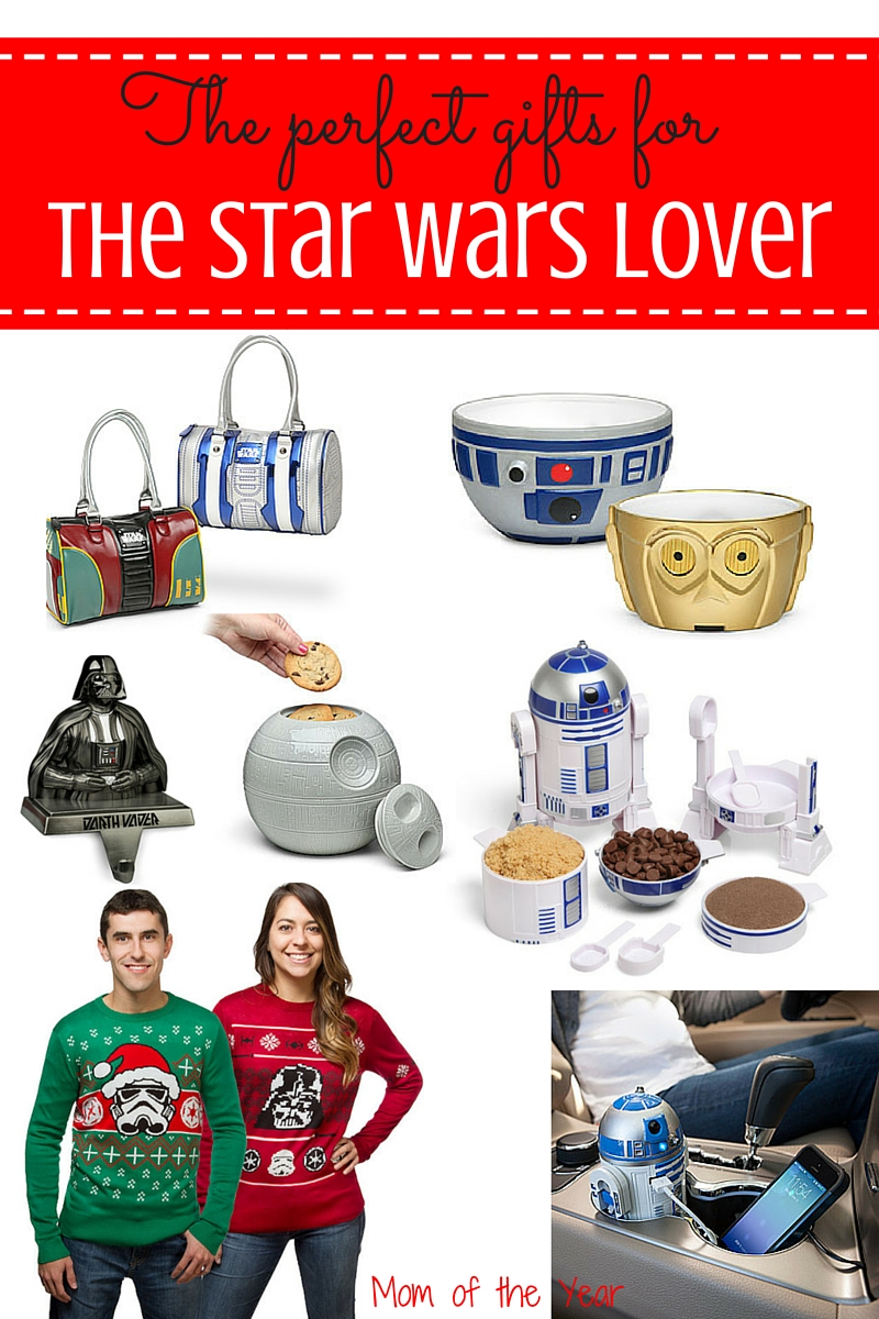 These one-of-a-kind unique gifts are the perfect finds for the Star Wars lovers in your life. Trust me, be it for the holidays, birthdays, Fathers Day or any special occasion, The Force will truly be with you as you gift these exclusive treasures!