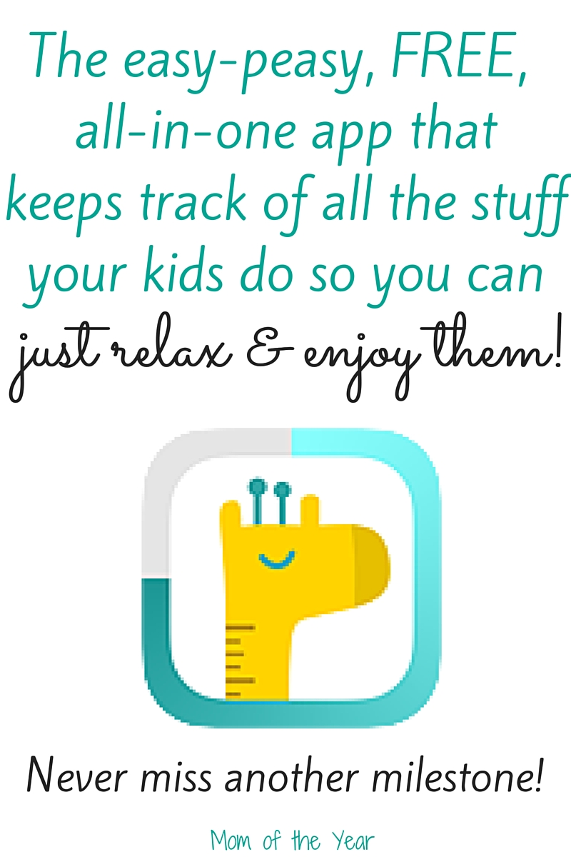 Overwhelmed with trying to keep track of your kids? Let this sweet, easy-peasy FREE app do all the work for you! You get the time to enjoy your kids and it does all the record-keeping note-taking work for you so you don't miss a single step of this parenting journey!