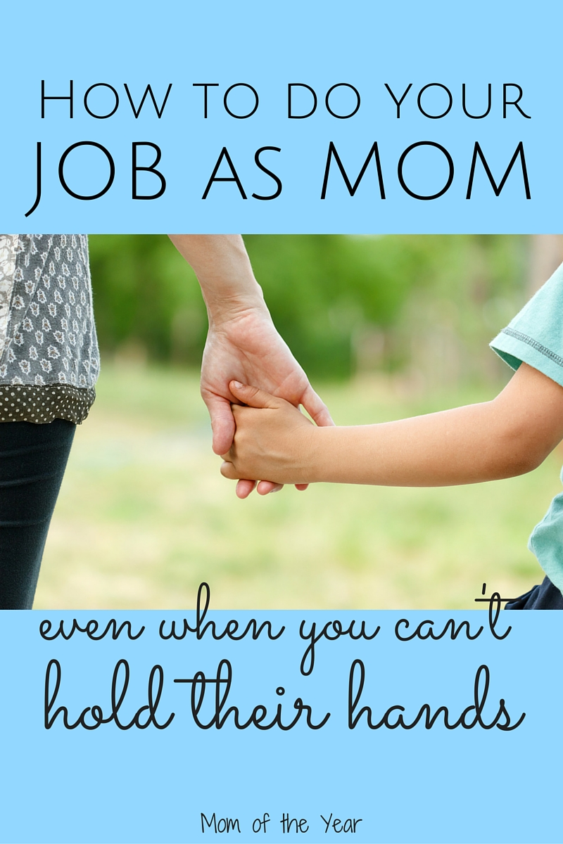This mothering gig is HARD WORK, especially when we aren't sure what to do or are feeling overwhelmed. It's a scary feeling to make sure we are giving our kids enough love and the proper attention, especially when they leave for school. Here's the trick I've found to having peace about making sure they are okay and being well cared for, even when I'm not with my children.