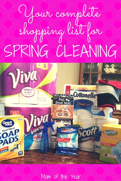 Spring Cleaning For The Busy Mom