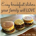 Mother's Day Win with Johnsonville Sausage Breakfast Sliders