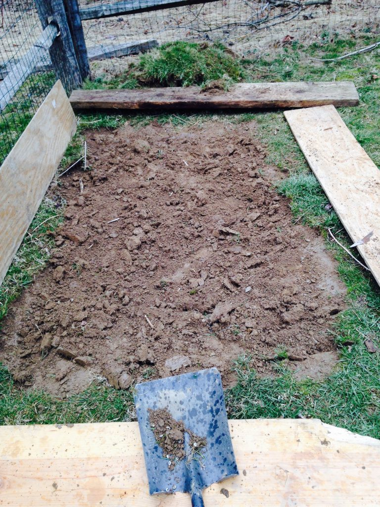 Easy Steps to Building a Raised Garden Bed - The Mom of ...