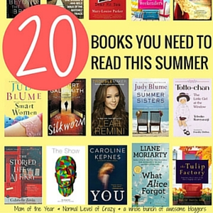 20 Books that Belong on Your Summer Reading List