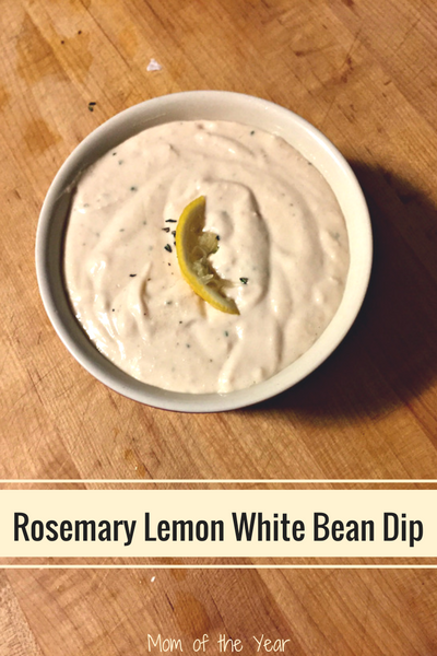 lemon rosemary white bean dip white bean dip with rosemary and garlic ...