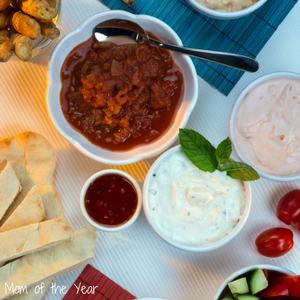 Healthy Party Dips