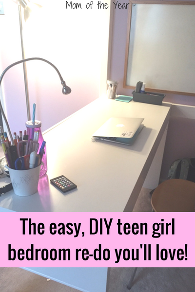 Teen Girl Bedroom Re Do That Wins The Mom Of The Year