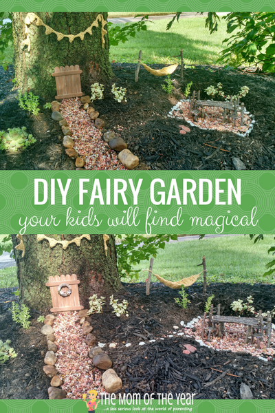 DIY Fairy Garden in 6 Easy Steps The Mom of the Year