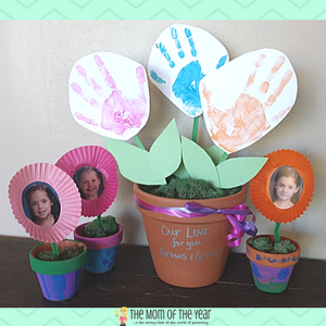 Flower DIY Mother's Day Gifts