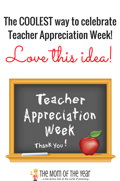 It's time to celebrate Teacher Appreciation Week! I love these ideas for thanking the teachers that are making such a difference in my kiddos' lives--never a better way to cheer them, appreciate them AND help them get the school supplies their classroom needs! Plus, check these real life stories of how teachers are loving on our children--and make sure to have the kleenex handy!