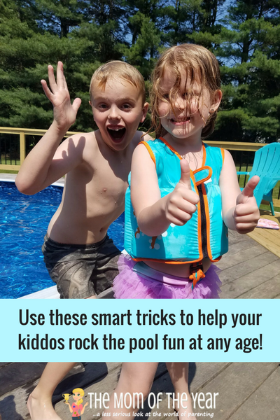 Help your child learn to swim this summer with these cool tips and this genius how-to! I love what we've learned with the process and my kids can't get enough of chilling in the pool this summer! Check it out and get your own family swim on!