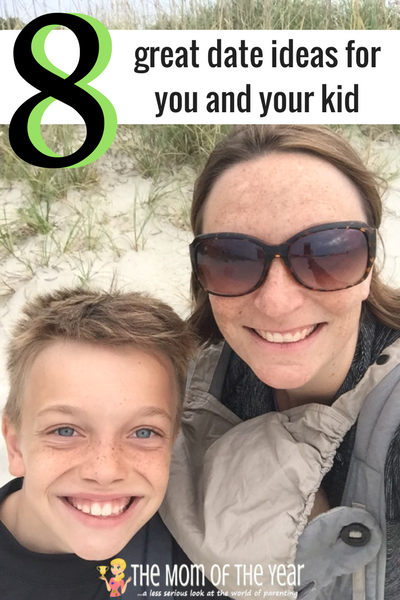 Bonding time with our children is SO important. Check out these fantastic 8 ideas for a date with your kid that you will both love! #6 is genius!