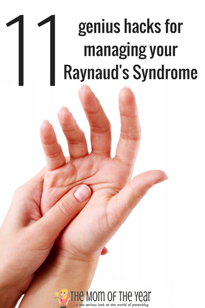 IF you suffer from Raynaud's Syndrome, the winter months can be BRUTAL! Here you'll find all the super-smart genius hacks, tips, tricks and fixes to surving the coldest months of the year--all told from a REAL mom who has been rocking this gig for over 10 year with little ones in tow. You CAN do this, mamas! The pain IS manageable!