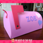 Valentine Mailbox Project for Sibling Kindness