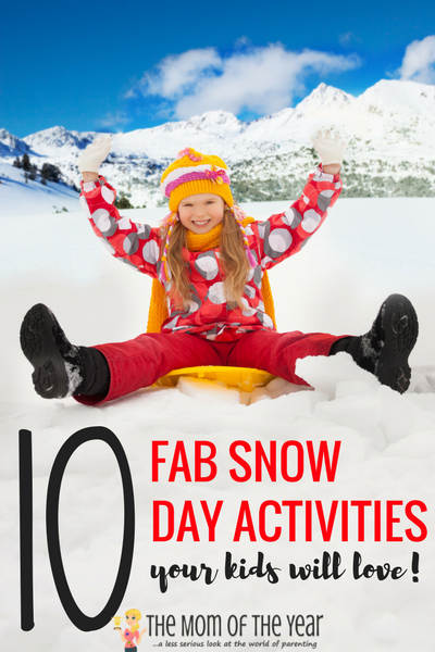 ow day, mama? NO WORRIES! You can do this! Check these 10 smart snow day activities to keep the fun and learning flowing in your home and then relax and count it a day well spent! Well done, mama!