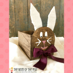 DIY Wooden Easter Bunny Basket
