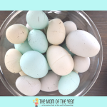 DIY Chalk Paint Eggs for Easter