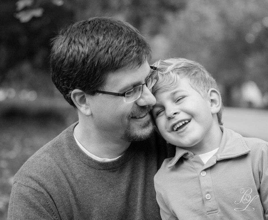 Never anything but love and laughter around here...right ? ;) Capturing Daddy and our son in this gorgeous photo was such a gift!