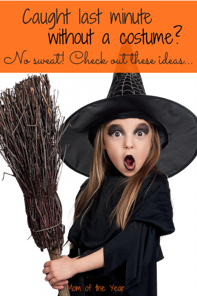 Scrambling last minute to think of something fun? Check out these ideas--and snag a few laughs to boot for some dressing-up fun!