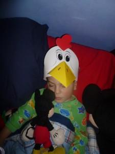 PA Farm Show Chicken hat @meredithspidel