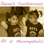 Janine's Confessions of a Mommyaholic @janinehuldie @meredithspidel