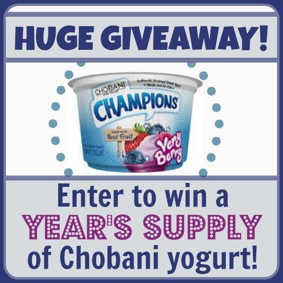 Chobani Yogurt Giveaway
