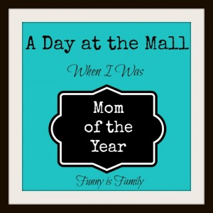 A Day at the Mall Mom of the Year @funnyisfamily @meredithspidel